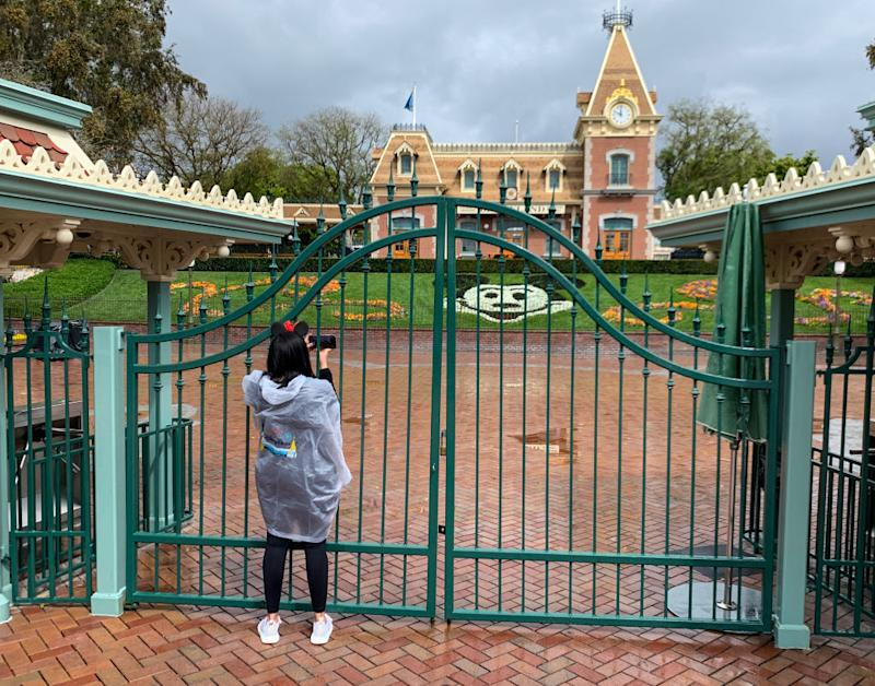 "Disneyland will remain closed due to the coronavirus pandemic ""until further notice."" (Photo: Jeff Gritchen/MediaNews Group/Orange County Register via Getty Images)"