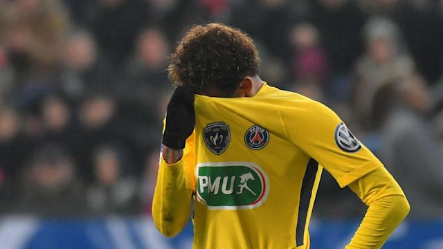 Paris Saint-Germain will be without Neymar against Nantes on Sunday, reportedly due to a rib injury.