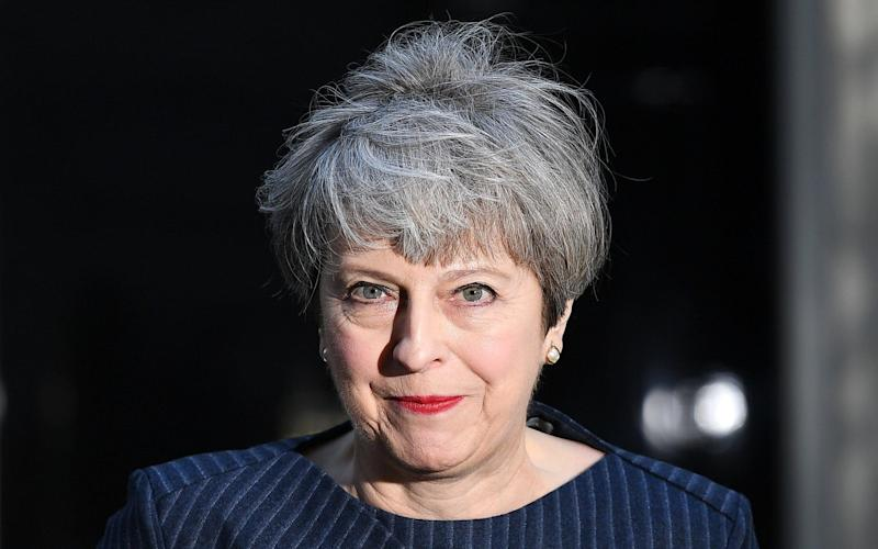 Theresa May has called a general election for June 8, but won't be debating with her rivals on TV during the campaign - EPA