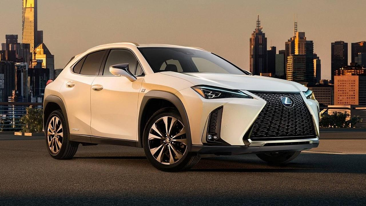 <p>While that spindle grille might work on a big car such as the LS, it looks disproportioned in relation to the crossover's much small body. I do like the continuous taillight strip carried over from the concept and the interior, although the cabin doesn't quite match the bold styling of the exterior.</p> <p><em>– Adrian Padeanu</em></p>