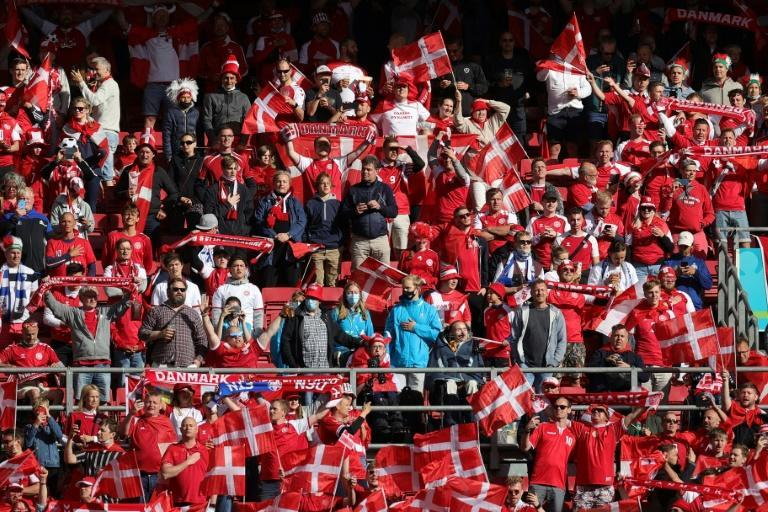 Up to 25,000 fans will be allowed to attend Denmark's game against Belgium
