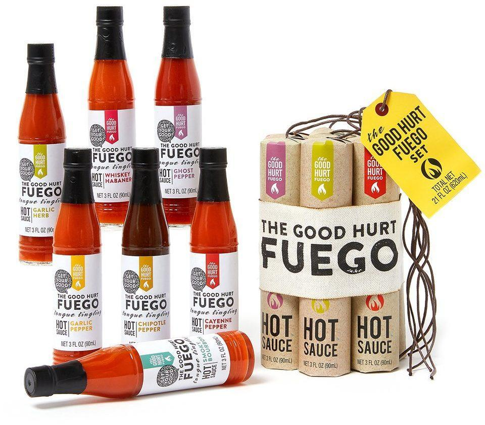 The Good Hurt Fuego hot sauce - Best Gifts for Dad