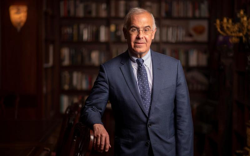 David Brooks, whose latest book, The Second Mountain, knocked Michelle Obama off the bestsellers list - Paul Grover for the Telegraph