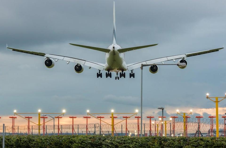 Flying is environmentally damaging but the government says it does not want to reduce it (Getty Images/iStockphoto)