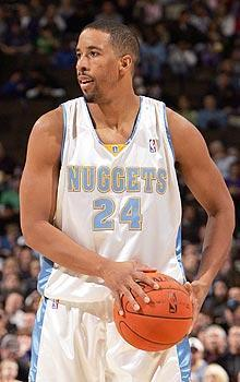 Andre Miller played for the Nuggets from 2003-06 before he was traded to the Sixers