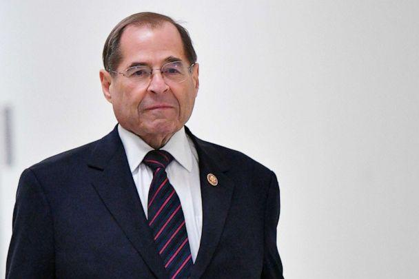 PHOTO: In this file photo taken on March 25, 2019, U.S. House Judiciary Committee Chairman Jerry Nadler walks to his office at the U.S. Capitol in Washington, D.C. (Mandel Ngan/AFP/Getty Images, FILE)