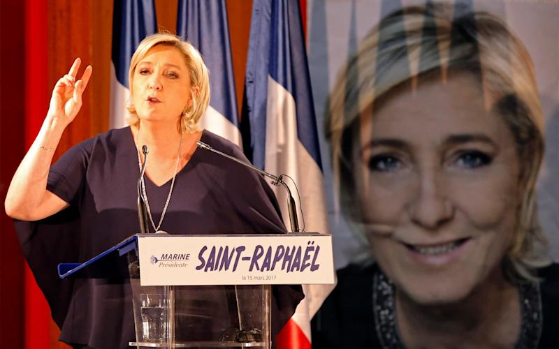 Marine Le Pen, French National Front (FN) political party leader  - Credit: REUTERS