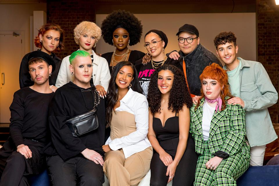 A new gang of aspiring MUAs are vying to impress the judgesBBC / Wall To Wall / Guy Levy