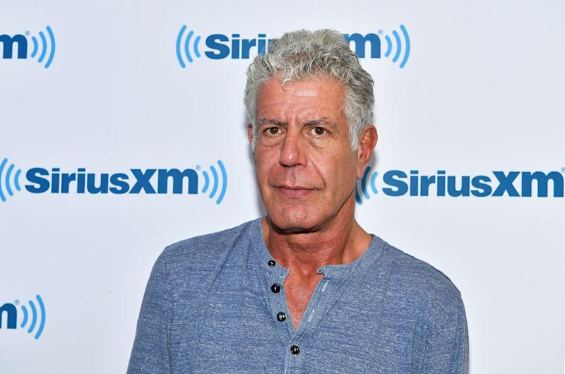 Anthony Bourdain's collection of souvenirs from around the world is going up for auction. (Photo: Slaven Vlasic/Getty Images)