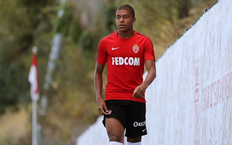 Kylian Mbappe 'sent home from Monaco training after bust-up with teammate'