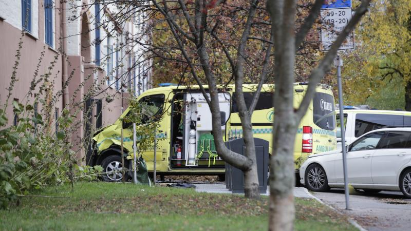 Norwegian police open fire on man who 'drove ambulance into crowd'