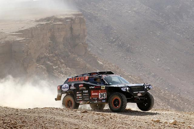 "#347 Jefferies and Maxxis Dakar Team: Tim Coronel, Tom Coronel <span class=""copyright"">Tom Coronel</span>"