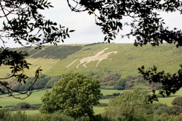 Osmington White Horse landmark in Dorset 'ruined by Challenge Anneka' restored