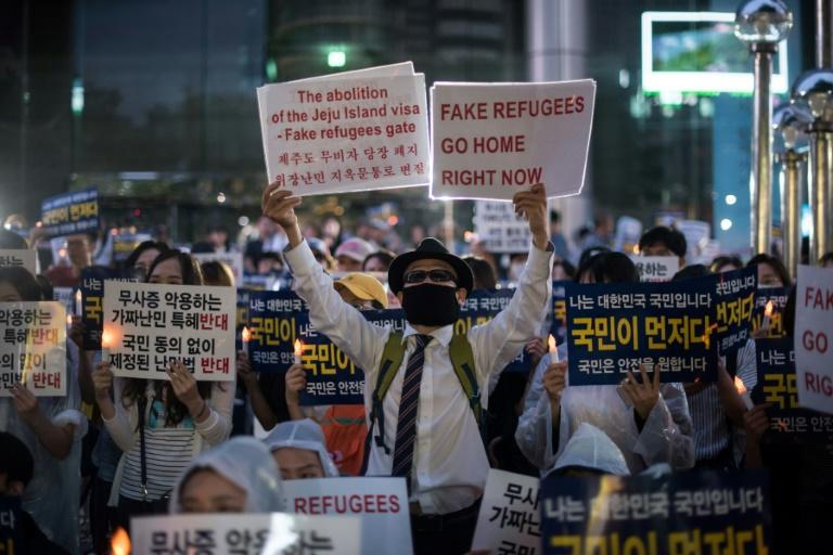 South Korea denies refugee status to Yemenis who arrived on Jeju