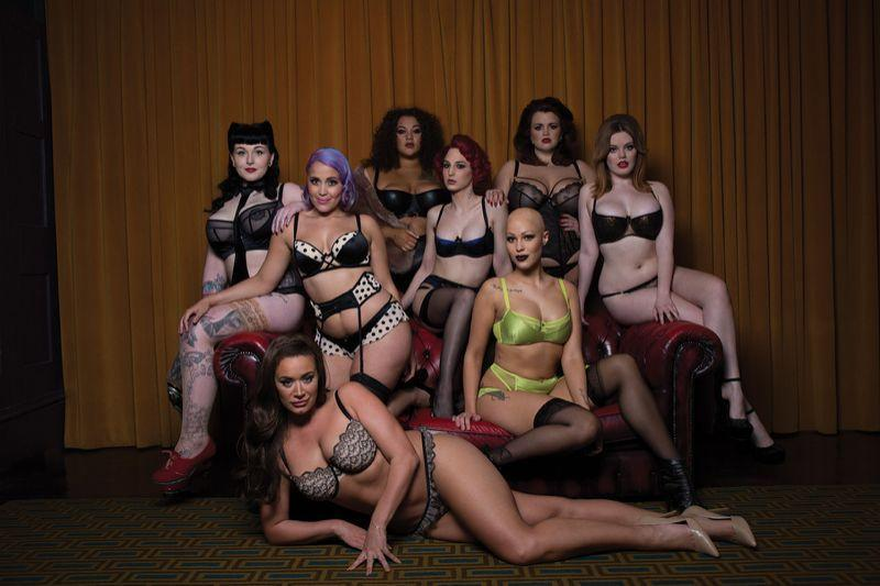 Facebook has rejected three ads for this lingerie campaign because they breach advertising policies. (Photo: Curvy Kate)