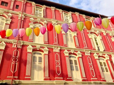 Definitely stay at a shophouse if you're looking for a local experience - Credit: istock
