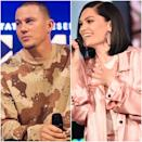 """""""Channing Tatum and Jessie J broke up about a month ago,"""" a source told <a href=""""https://www.usmagazine.com/celebrity-news/news/channing-tatum-jessie-j-split-after-more-than-1-year-together/"""" rel=""""nofollow noopener"""" target=""""_blank"""" data-ylk=""""slk:Us Weekly"""" class=""""link rapid-noclick-resp""""><em>Us Weekly</em></a> in December 2019. """"They are still really close and still good friends."""" The couple had been together for over a year. Jessie J was Tatum's first relationship after his split with Jenna Dewan. Sources tell <a href=""""https://people.com/movies/channing-tatum-jessie-j-split-timing-was-off/"""" rel=""""nofollow noopener"""" target=""""_blank"""" data-ylk=""""slk:People"""" class=""""link rapid-noclick-resp""""><em>People</em></a> that the """"timing was off"""" for the former couple. """"He is super busy with his career and as a dad,"""" the source said. """"He has a world awaiting him and is trying to manage how busy he is which isn't easy."""" The two also seem to have ended on good terms, with the singer still cheekily <a href=""""https://www.instagram.com/p/B5mKVTRlKn2/"""" rel=""""nofollow noopener"""" target=""""_blank"""" data-ylk=""""slk:commenting"""" class=""""link rapid-noclick-resp"""">commenting</a> on Tatum's Instagrams from earlier in the month."""