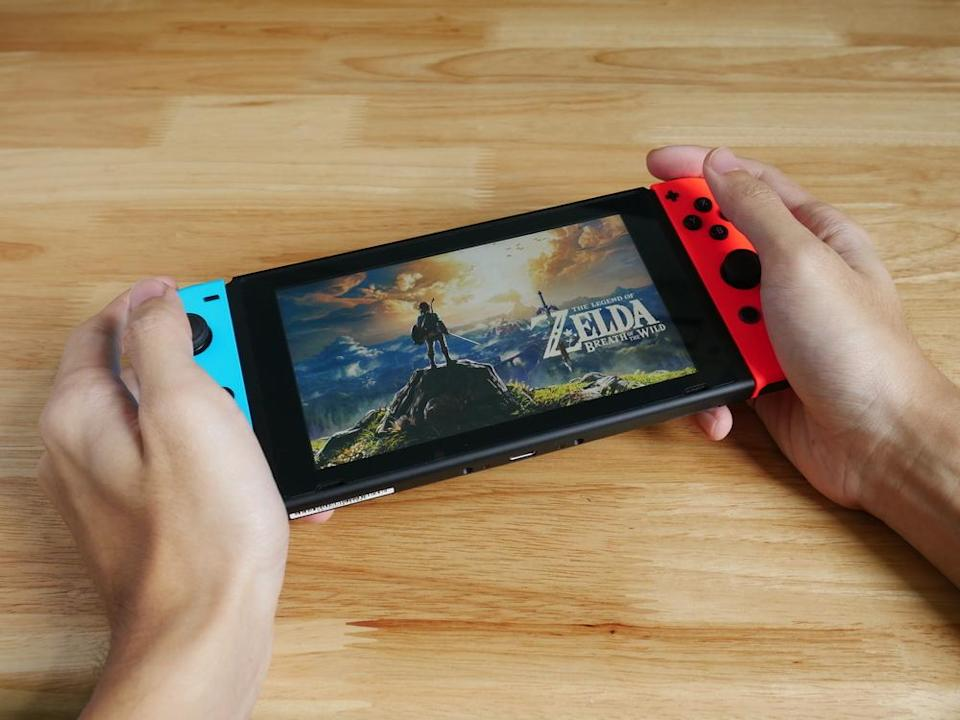 """The Legend of Zelda: Breath of the Wild"" ist 2017 für Nintendo Switch erschienen. (Bild: Wachiwit/Shutterstock.com)"