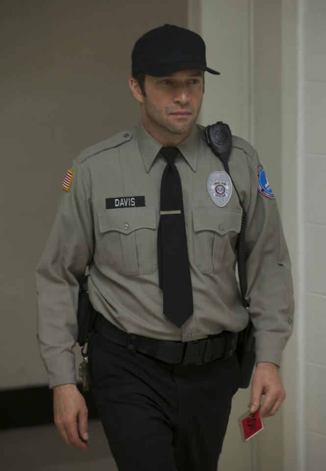 "Joe Carroll (James Purefoy) escapes prison disguised as a security guard in the series premiere of ""The Following."""