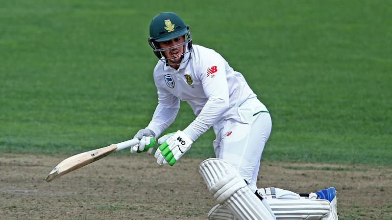 De Kock earns praise for gutsy display