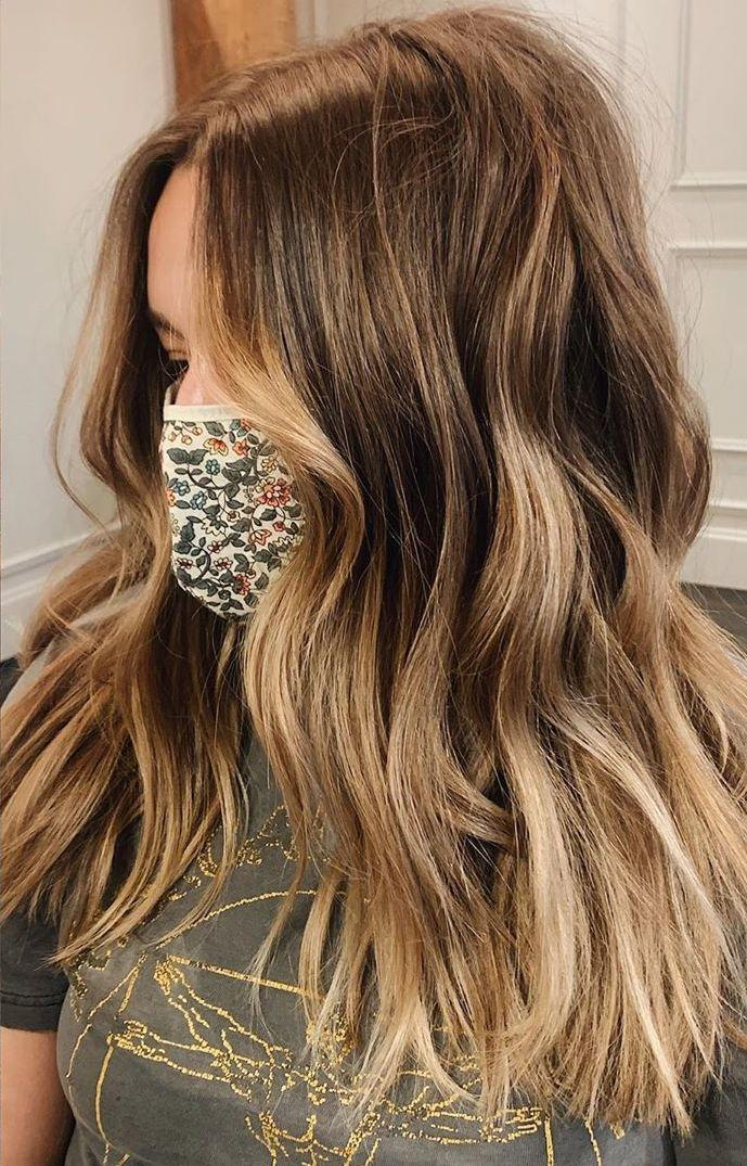 """If you're not looking for a major transformation, some well-placed long layers can make you feel brand new. """"I love this haircut for girls wanting movement in their natural texture,"""" says Brown. """"This is great for adding shape and style to thick hair."""""""