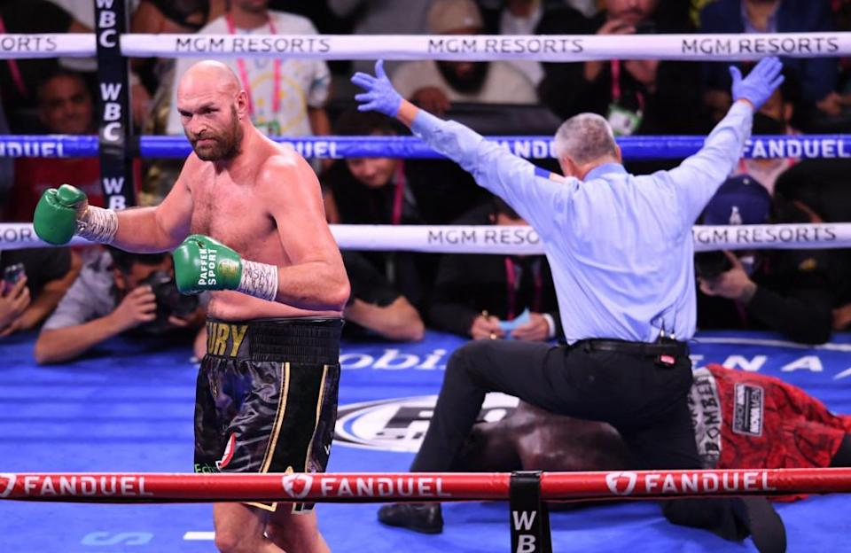 At the MGM Grand Garden Arena, the Gypsy King Tyson Fury succeeded in defending his WBC heavyweight title against the Bronze Bomber Deontay Wilder in one of the greatest fights of modern times, ending their historic trilogy of bouts. However, this win did not come easy. The heavyweight champion had to fight and prove himself all his life. Here are Fury's greatest professional and personal achievements.