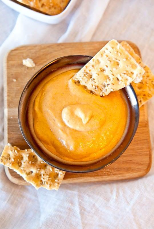 "<p>Need a supereasy app recipe? This tasty whip dip is calling your name. It takes only minutes to make (really!), and will be eaten up even faster. With pumpkin puree and Cool Whip, how could this <em>not</em> taste good? Dip crackers, bread, sugar snap peas, apple wedges, and more into it for best results.</p> <p><strong>Get the recipe:</strong> <a href=""https://www.averiecooks.com/caramel-pumpkin-whip-dip/"" class=""link rapid-noclick-resp"" rel=""nofollow noopener"" target=""_blank"" data-ylk=""slk:caramel pumpkin whip dip"">caramel pumpkin whip dip</a></p>"