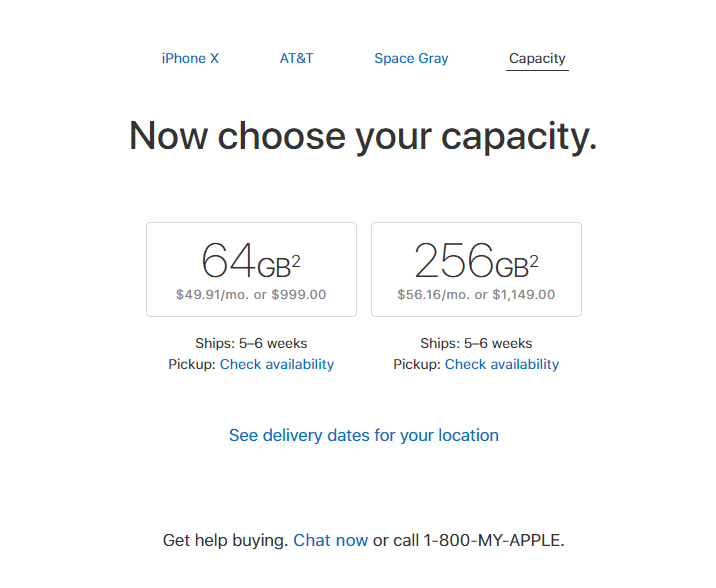 Apple Iphone X Wait Times Rise As Demand Exceeds Supply