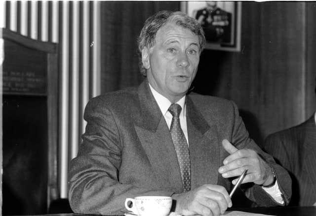 Sir Bobby Robson took charge of England for the first time in Denmark in 1982 (Malcolm Croft/PA)