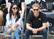 """<p>Meghan <a href=""""https://www.glamourmagazine.co.uk/gallery/meghan-markle-quotes"""" rel=""""nofollow noopener"""" target=""""_blank"""" data-ylk=""""slk:has previously said"""" class=""""link rapid-noclick-resp"""">has previously said</a> she doesn't read anything in the press, and that she and Harry make any effort to drown out noise when it comes to their relationship. </p><p>""""It has its challenges, and it comes in waves—some days it can feel more challenging than others. And right out of the gate it was surprising the way things changed. But I still have this support system all around me, and, of course, my boyfriend's support. I don't read any press. I haven't even read press for <em>Suits</em>. The people who are close to me anchor me in knowing who I am. The rest is noise. Of course it's disheartening. It's a shame that that is the climate in this world, to focus that much on that, to be discriminatory in that sense. I think, you know, at the end of the day, I'm really just proud of who I am and where I've come from and we have never put any focus on that. We've just focused on who we are as a couple. And so when you take all those extra layers away and all of that noise, I think it makes it really easy to just enjoy being together.""""</p>"""