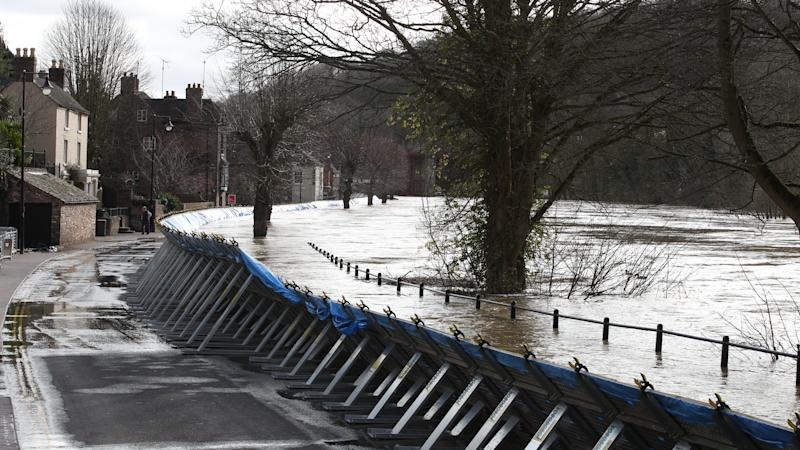 Flood defences at risk of being breached as more rain forecast