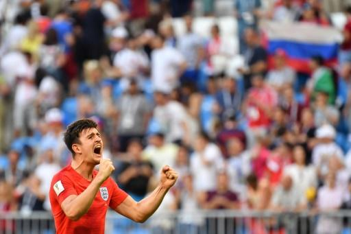 Super 'Slab head': Harry Maguire shot to prominence with his performances at the 2018 World Cup