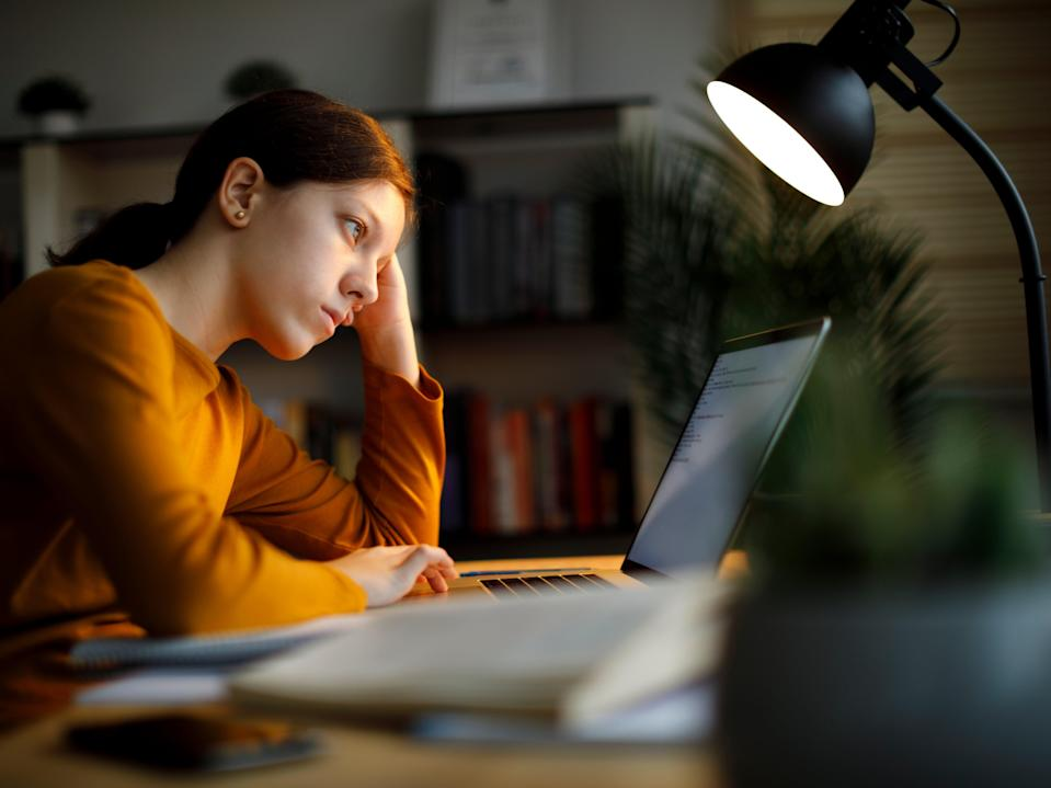 A survey has suggested 40 per cent of students have considered dropping out of university during the Covid pandemic (Getty Images)