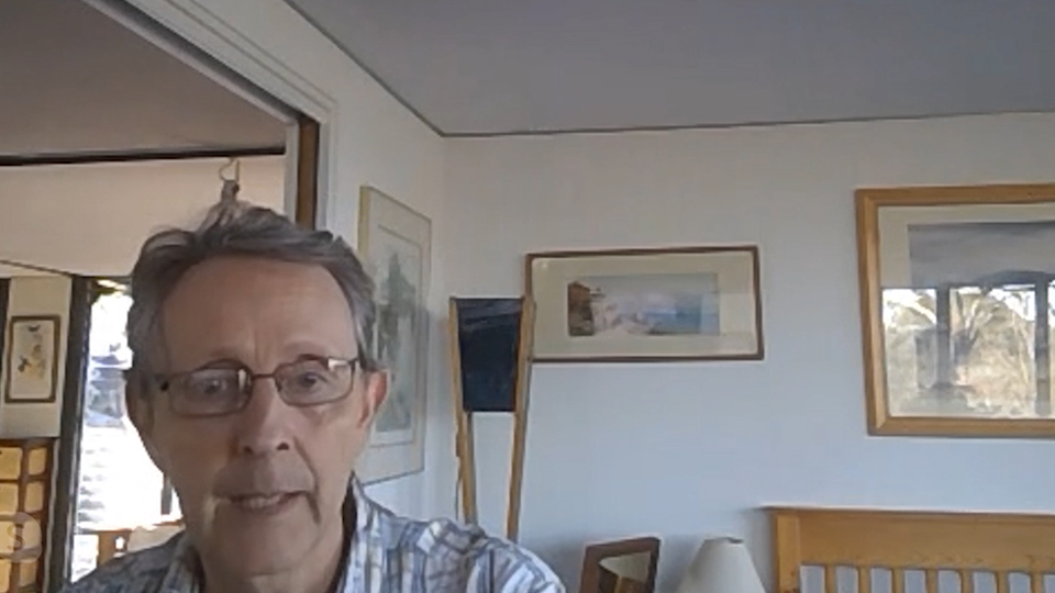 Professor Clive Phillips spoke to Yahoo News Australia from his Queensland home due to social distancing laws. Source: Yahoo News Australia
