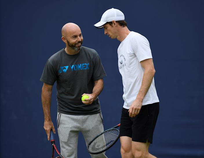 Delgado has been Murray's coach since 2016 and is a deep thinker about the sport