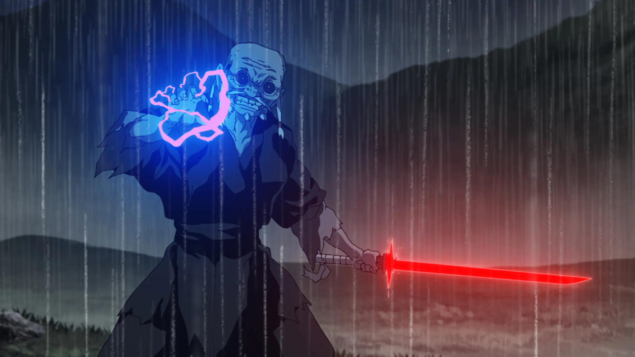 Different anime studios are given the keys to the galaxy far, far away in 'Star Wars: Visions'. (Disney/Lucasfilm)