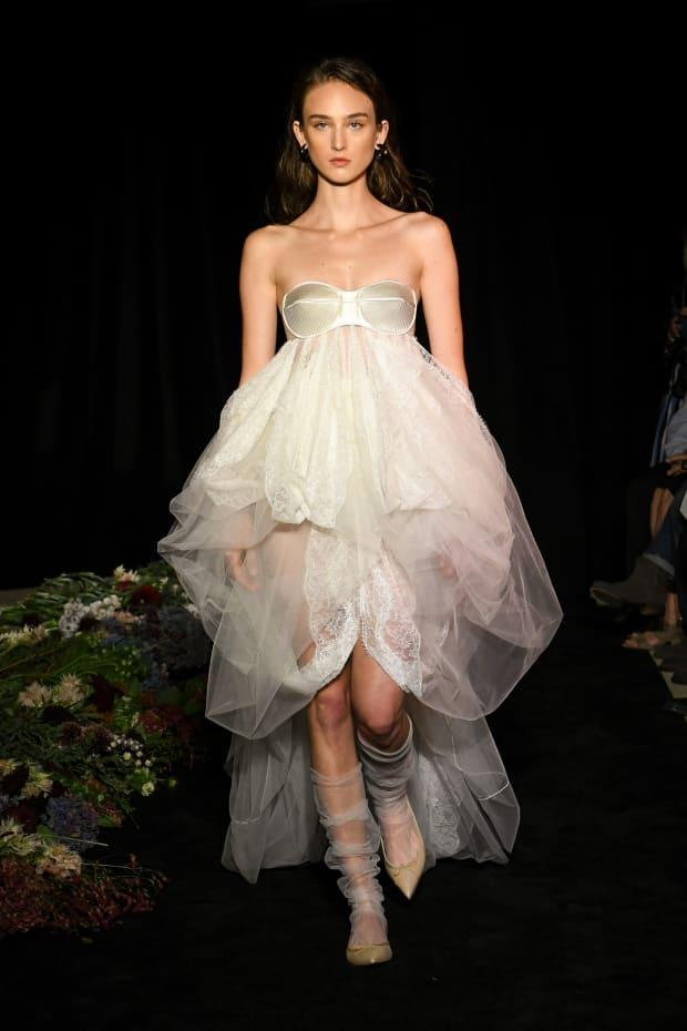 <p>A look from the Danielle Frankel Fall 2020 bridal collection. Photo: Courtesy of Danielle Frankel</p>