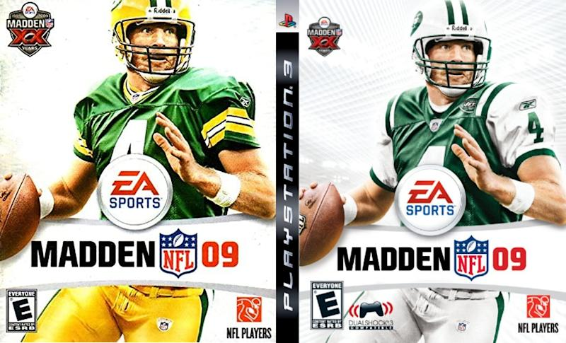 Madden 09 covers (via EA Sports/Sony)
