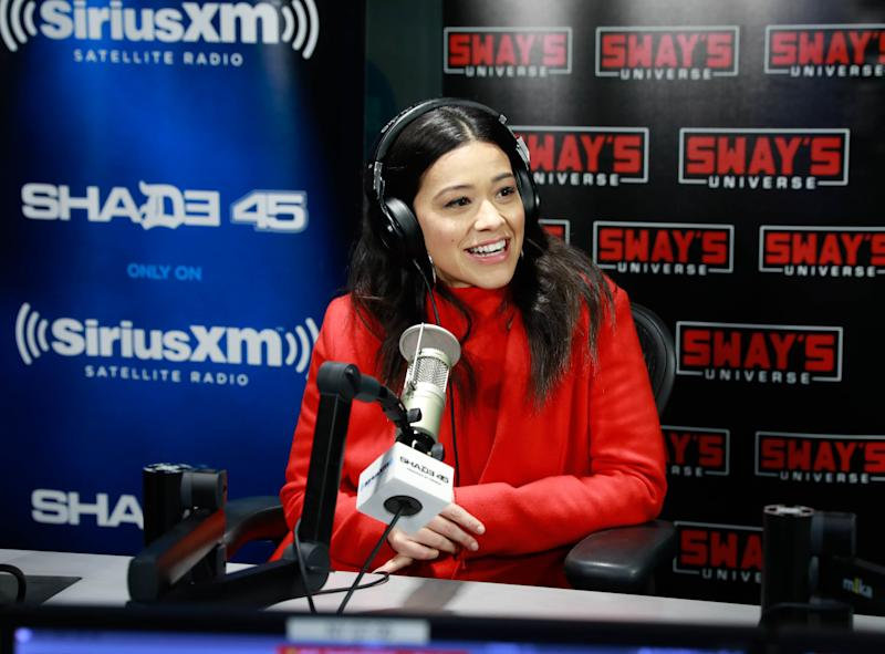 Gina Rodriguez tearfully responds after controversial interview sees her labelled 'anti-black'