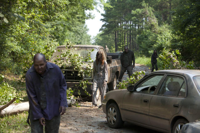 "Walkers in ""The Walking Dead"" episode, ""Say the Word."""