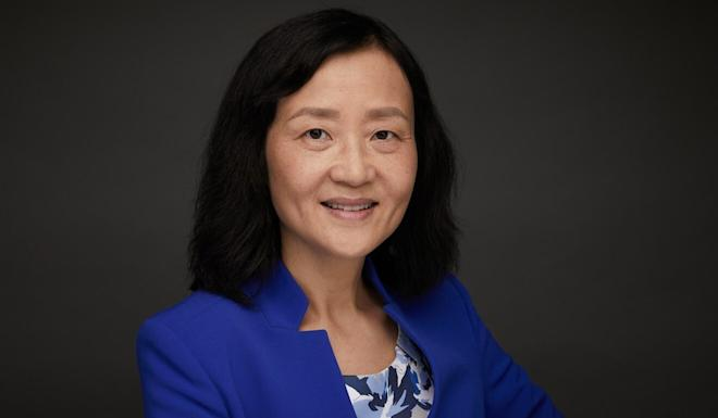 Wei Jiang of Columbia University is an author of a study on the shift of US manufacturing to China. Photo: Ian Londin
