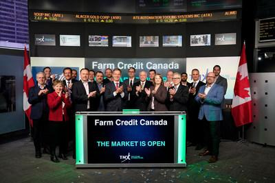 Farm Credit Canada Opens the Market (CNW Group/TMX Group Limited)