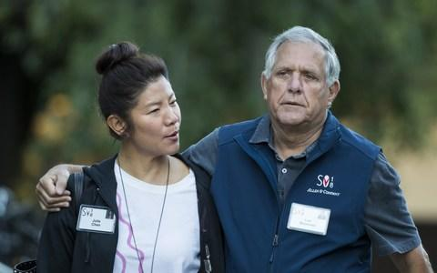 Julie Chen and Les Moonves, July 11 - Credit: Drew Angerer/Getty