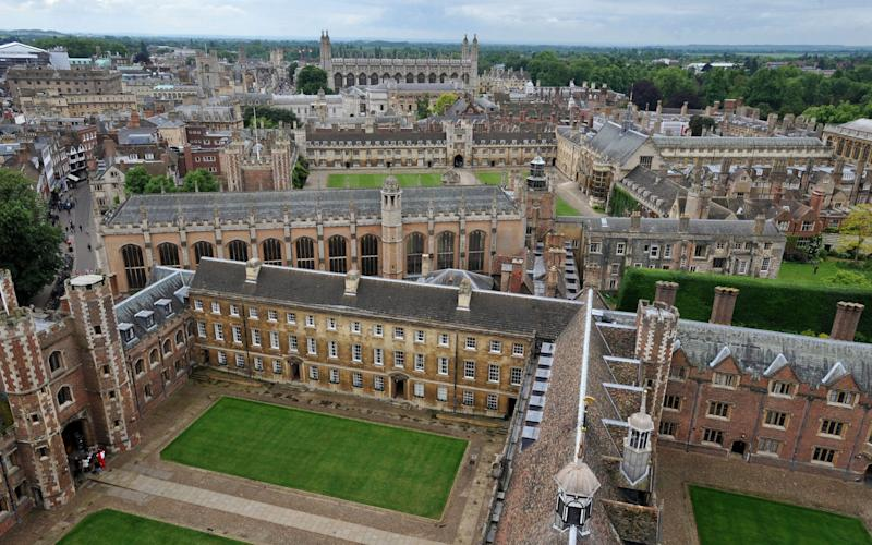 Cambridge University had one of the highest number of reports  - PA