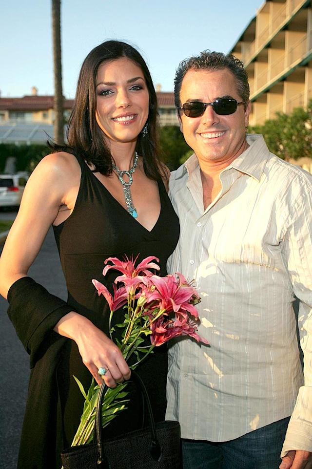 "Following in the footsteps of many reality TV couples before them, model Adrianne Curry and former ""Brady Bunch"" star Christopher Knight announced they were breaking up in May after five years of marriage. The two had starred in three seasons of VH1's ""My Fair Brady"" together, which followed them thru their dating days, wedding preparations, and lives as newlyweds."