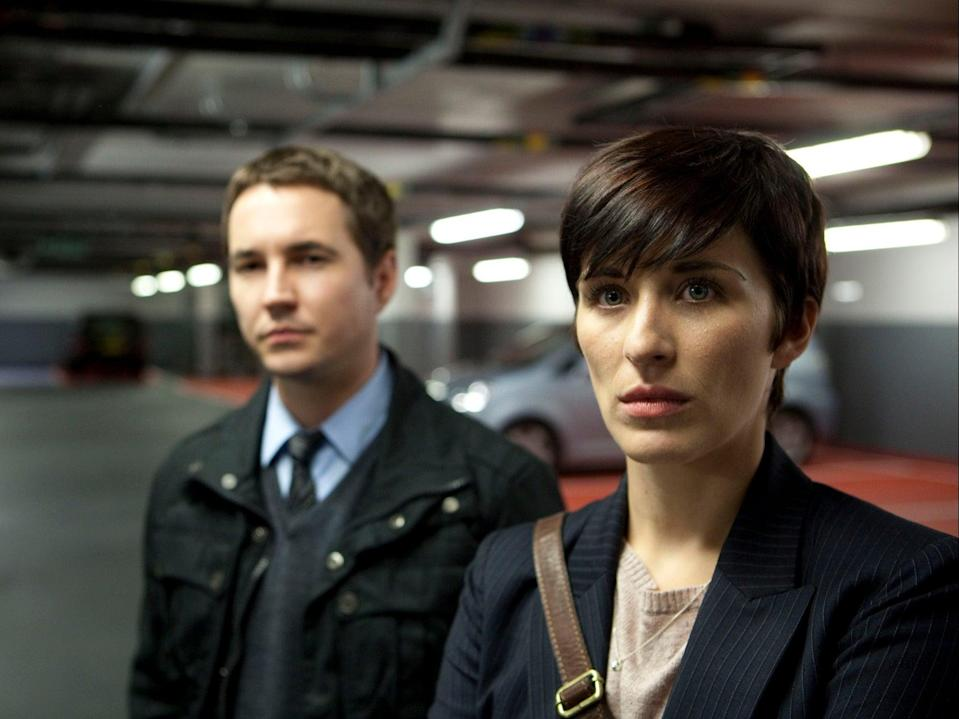 Detective Sergeant Steve Arnott (Martin Compston) and Detective Constable Kate Fleming (Vicky McClure) (BBC/World Productions/Ed Miller)