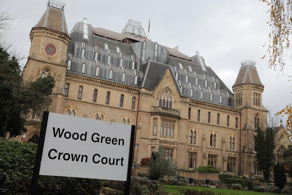 A general view of Wood Green Crown Court, London, where former hospital porter Paul Farrell is appearing on 84 charges for alleged offences including rape, attempted rape, sexual assault of a child under 13 and indecent assault on a male.