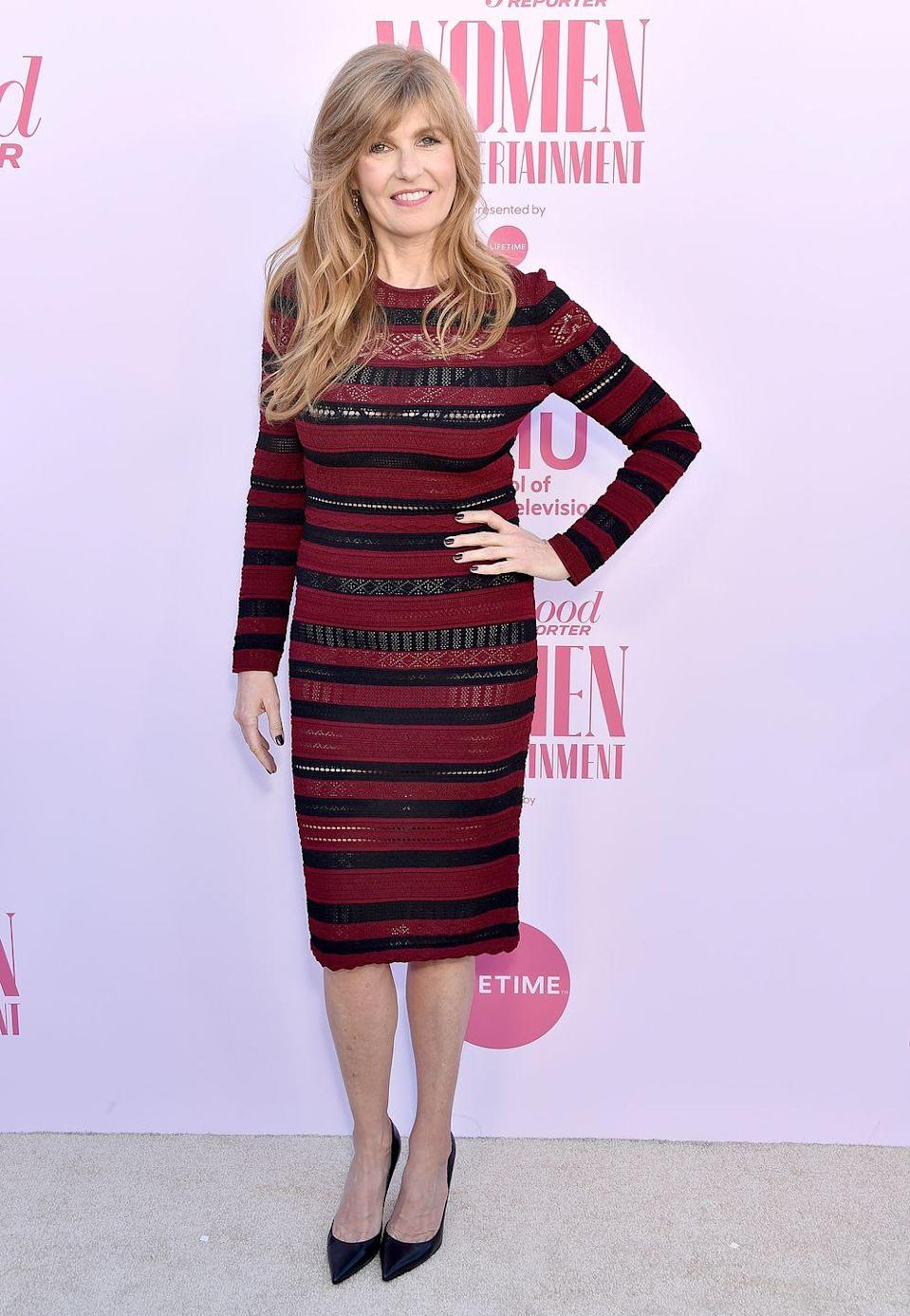 <p>The <em>Dirty John </em>actress graduated from Dartmouth College in 1989, where she studied Asian studies with a concentration in Chinese. She also studied in Beijing with now-U.S. senator Kirsten Gillibrand. </p>