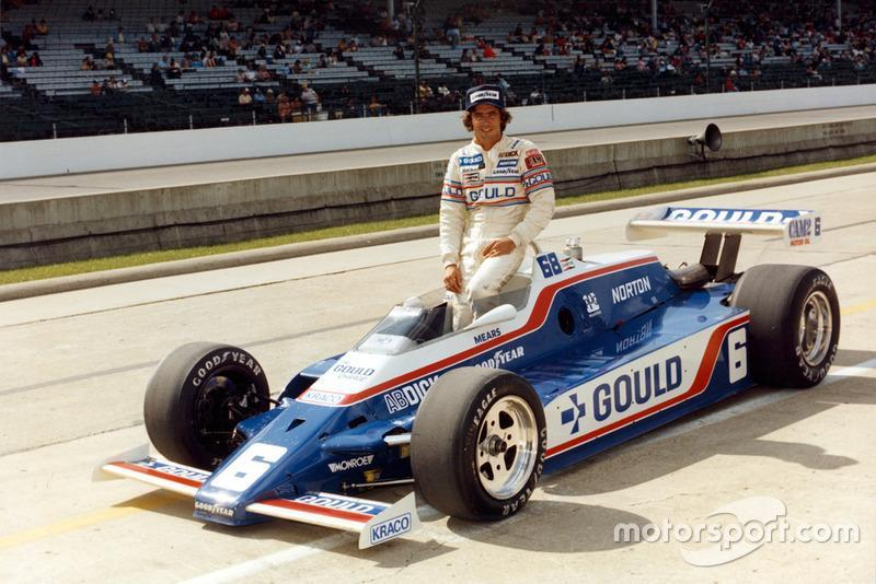 "1981 - CART: Rick Mears (Penske-Cosworth PC9B)<span class=""copyright"">Indianapolis Motor Speedway</span>"
