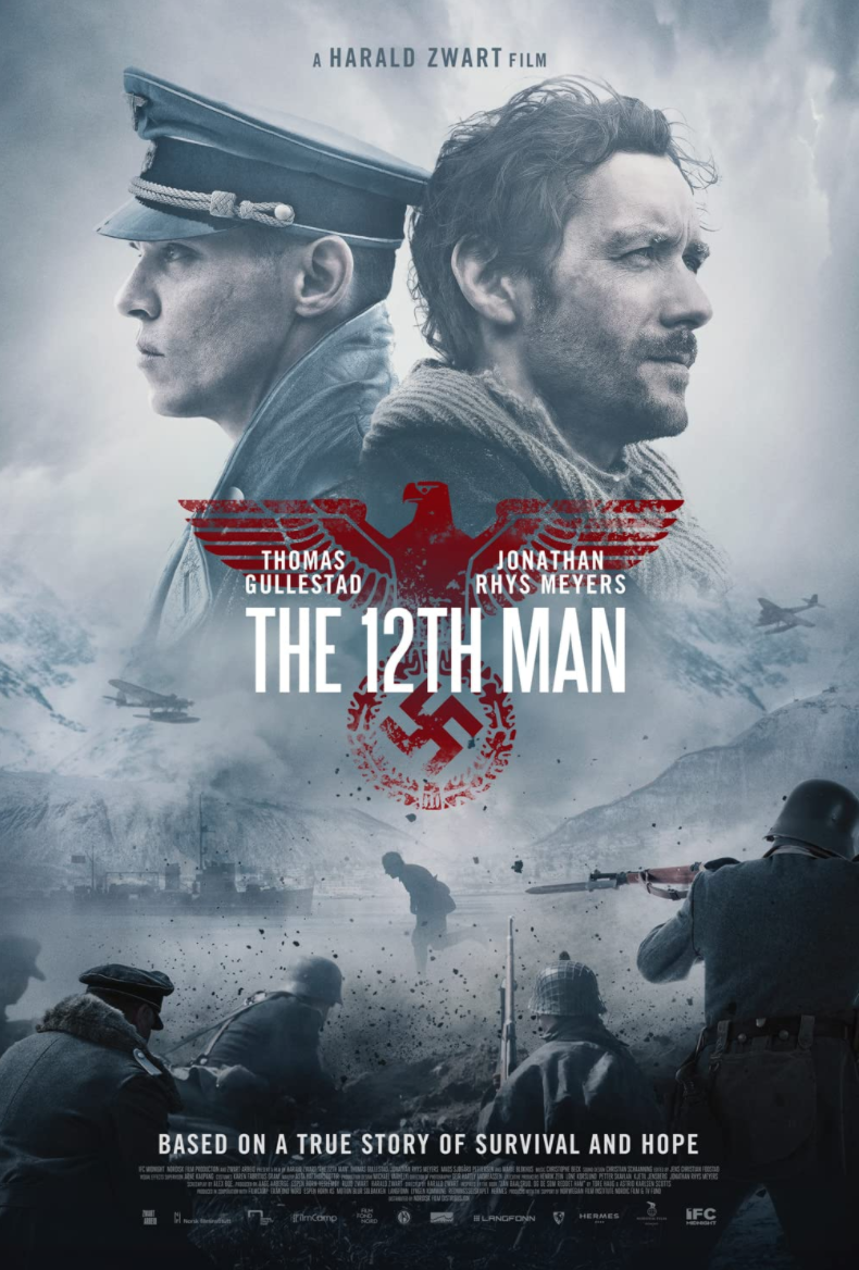 <p>Staying in the European theater, there's Norway's <em>The 12th Man</em>, about a real documented escape from Nazi-occupied Norway to neutral Sweden. It's a smaller production than most war films, but it has a bigger heart.</p>